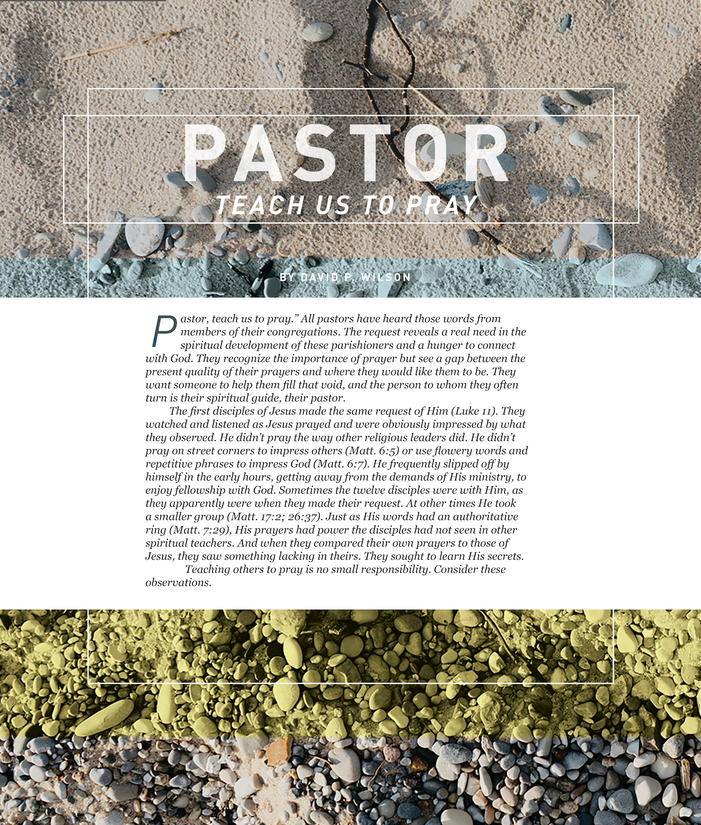 GP Issue13 teach us to pray1