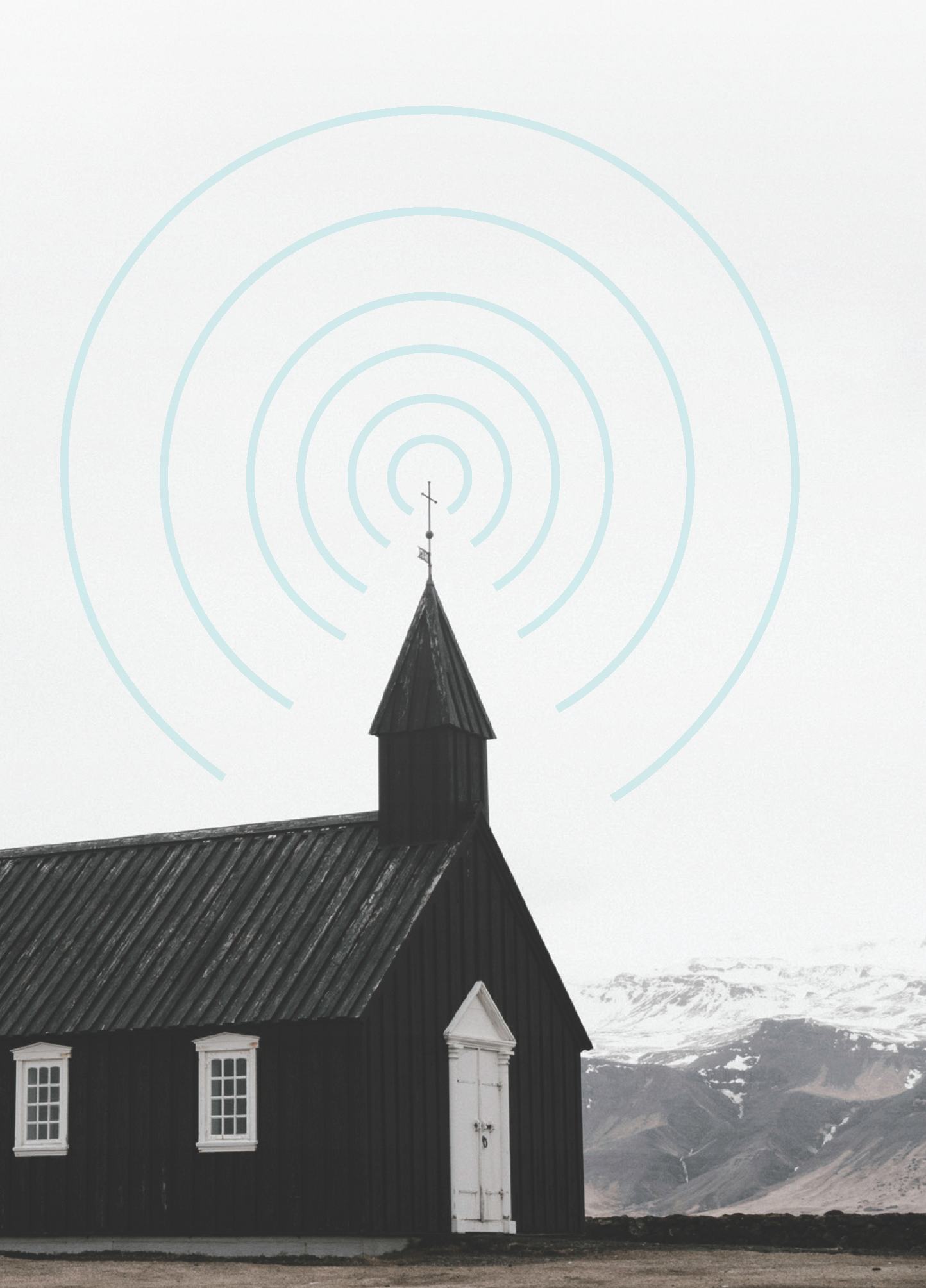 small church illustration